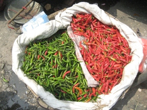 Chilies !! Staple diet of Bhutanese people