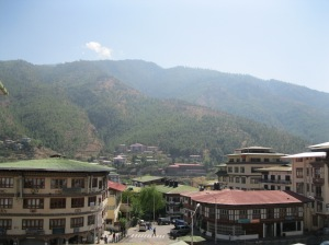 Thimpu City view